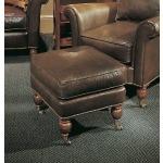 Century Leather Newport Ottoman