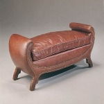 Century Leather Prince of Wales Bench