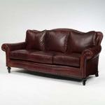 Century Leather Sedgwick Sofa