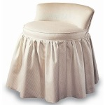 Century Signature Dove Vanity Stool