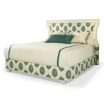 Century Signature King Scoop Wood Uph Headboard