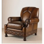 Century Trading Company LEATHER CHAIR