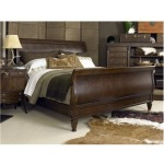 Chelsea Club Collection WESTBOURNE SLEIGH BED - QUEEN SIZE Queen