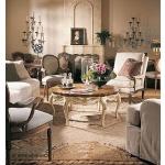 Coeur de France & Bordeaux Collection BRILLET COCKTAIL TABLE