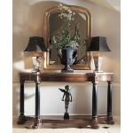 Consulate Collection EMPIRE CONSOLE WITH MARBLE TOP