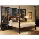 Consulate Collection JOSEPHINE POSTER BED - KING SIZE King
