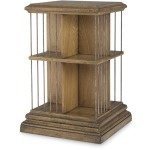 Archive Home and Monarch Jamison Revolving Bookcase