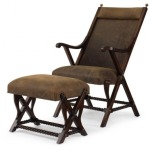 Bob Timberlake Upholstery The Cabin Chair & Ottoman As Shown Only