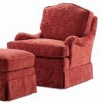 Elegance Griffin Swivel Rocker Chair