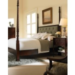 Wellington Court Poster Bed With Uph Headboard - King Size King