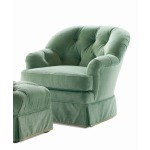 Century Home Elegance Bethpage Swivel Rocker Chair