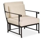 Kyoto LOUNGE CHAIR  Extruded Aluminum