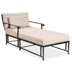 Kyoto SINGLE CHAISE  Extruded Aluminum