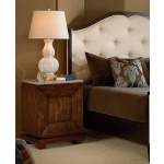 Omni Collection BEDSIDE TABLE WITH GRANITE TOP