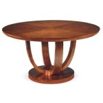 Omni Collection ROUND DINING TABLE 252lb (Optional Dura Shield)