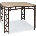 Orient DINING TABLE  Powder Coated Aluminum