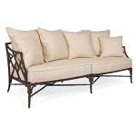 Orient LOVESEAT  Powder Coated Aluminum