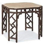 Orient SIDE TABLE  Powder Coated Aluminum