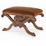 Oscar de la Renta Upholstery SHELL BENCH