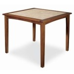 Plein Air BAR TABLE  Mahogany