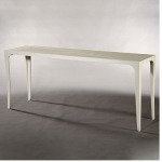 Riviera CONSOLE TABLE  Powder-coated Aluminum