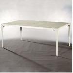 Riviera RECTANGULAR DINING TABLE  Powder-coated Aluminum