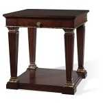 Wellington Court Collection Lamp Table