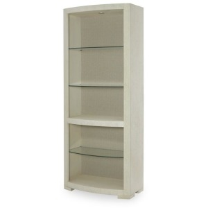 Mesa Bunching Curio With Upholstered Back Panel
