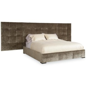 Thomas O\'Brien Soho Bed Fully Uph Wings For Queen Size Queen