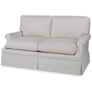Century Leather Essex Large Love Seat
