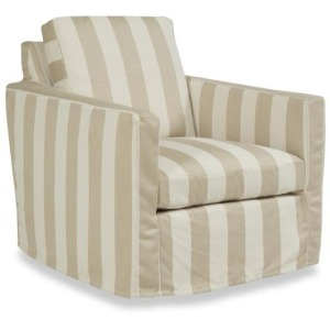 Candice Olson Outdoor - Oasis Swivel Lounge Chair Slipcover