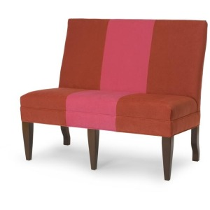 """Century Chair 32"""" To 44"""" Armless Dining Banquette"""