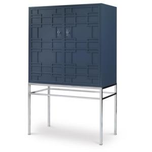 Details Bar Cabinet (mirror Back Panel)