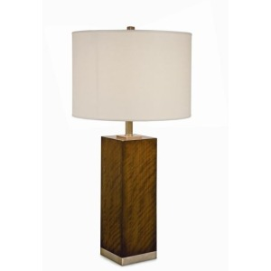 Grand Tour Accessories Bossiere Walnut Table Lamp