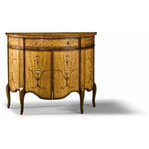 Archive Home and Monarch - Adam's Demilune Commode