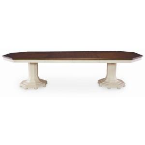 Charlotte Moss Lexington Double Pedestal Dining Table