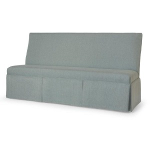 """Century Chair 32"""" To 44 (Skirted Armless Banquette)"""