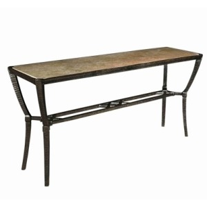 Andalusia CONSOLE TABLE  Powder Coated Aluminum