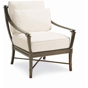 Andalusia LOUNGE CHAIR  Powder Coated Aluminum