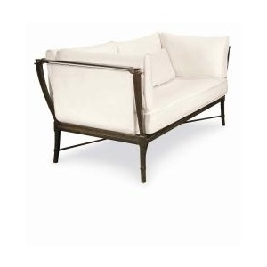 Andalusia LOVESEAT  Powder Coated Aluminum