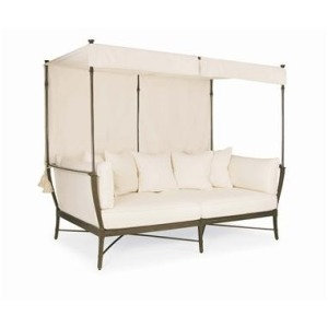 Andalusia ROYAL DAYBED CANOPY  Powder Coated Aluminum