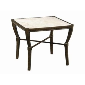 Andalusia SIDE TABLE  Powder Coated Aluminum