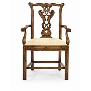 Archive Home and Monarch CHIPPENDALE DINING ARM CHAIR