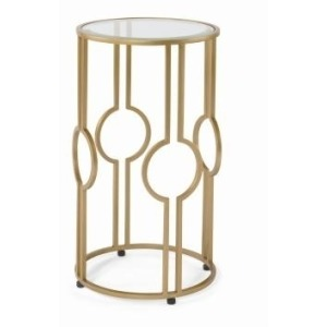 Archive Home and Monarch CLAIRE ACCENT TABLE - GOLD