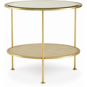 Archive Home and Monarch Adele Round End Table