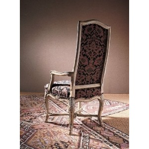 Century Chair HOOVED FRENCH ARM CHAIR