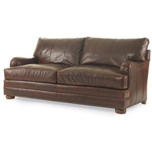 Century Leather Leatherstone Two Cushion Love Seat