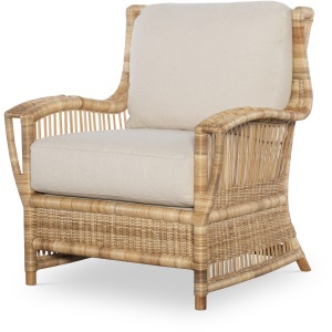 Avalon Lounge Chair - Natural/Flax
