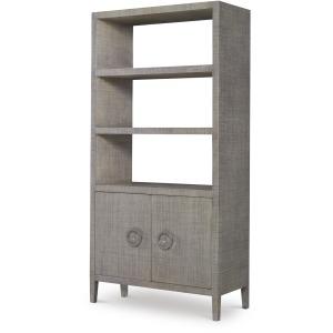 Charleston Bookcase-French Grey