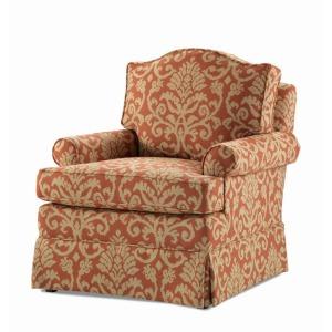 Century Home Elegance Harper Swivel Rocker Chair